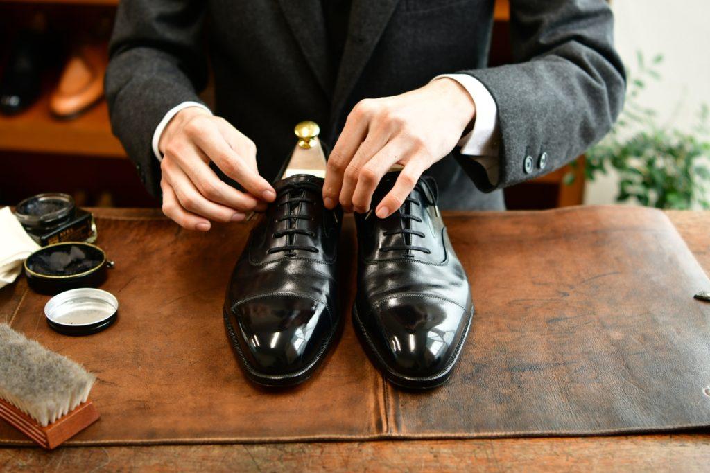 Boston&ReOlds 靴磨き専門 今泉