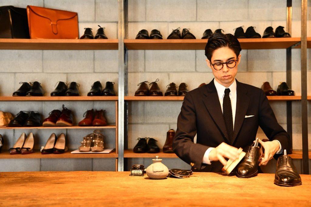 今泉 靴みがき専門店 高級靴