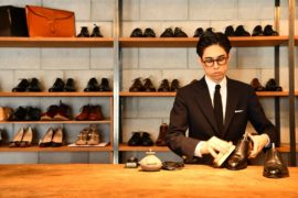 福岡市 今泉 靴みがき専門店 高級靴